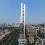 Asymmetrical Tower Wears Core on the Outside