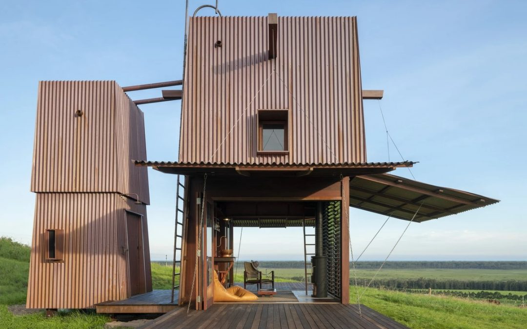 This Tiny House Opens up Like a Flower