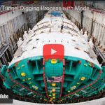 Amazing Tunnel Digging Process with Modern Machines and Skilful Worker