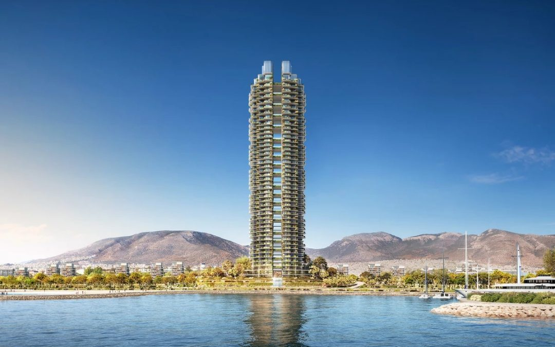 Greece's Tallest Tower in Greenery