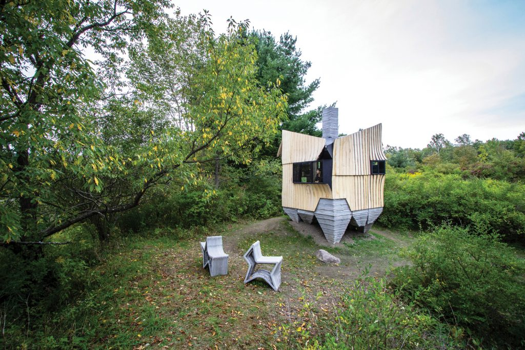 Q&A: How a 3D-printed Concrete Cabin in N.Y. came to be - GCO Portal