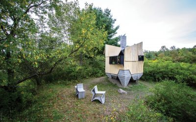 Q&A: How a 3D-printed Concrete Cabin in N.Y. came to be
