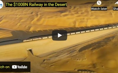 One of The World's Largest and Most Ambitious Railway  projects in The Middle of a Desert