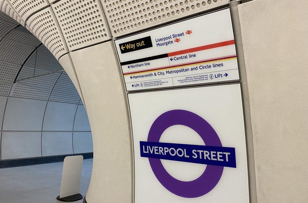 London Train Station Features Precast Platforms, Panels