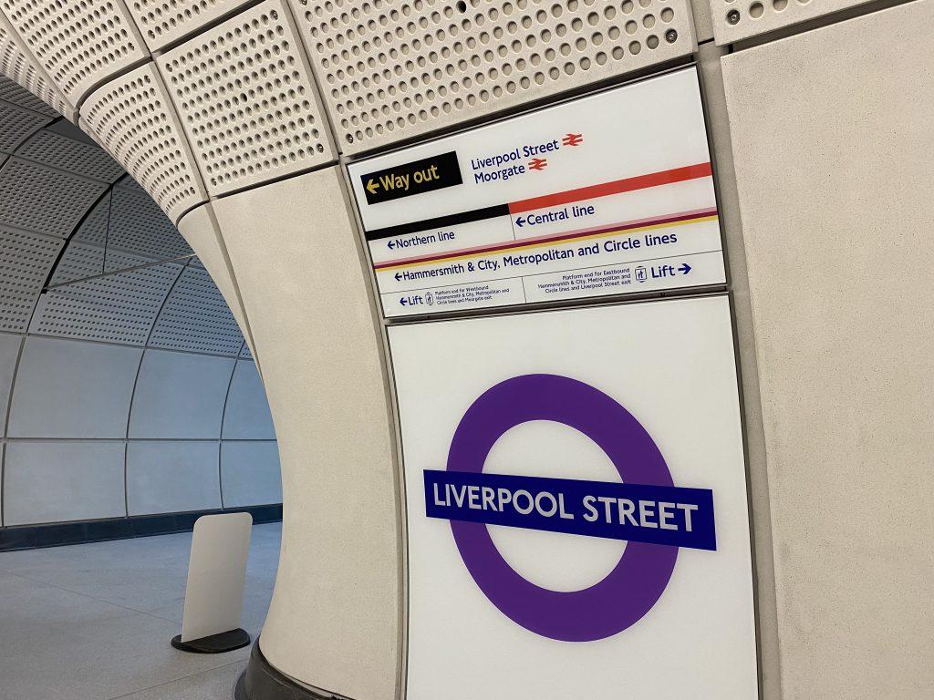 London Train Station Features Precast Platforms, Panels - GCO Portal