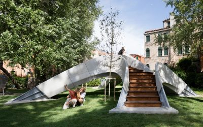 World's First Unreinforced 3D-printed Bridge in Venice, Italy