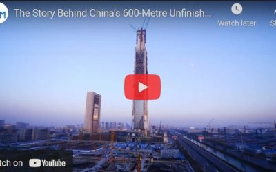 The Story of China's Unfinished Skyscraper