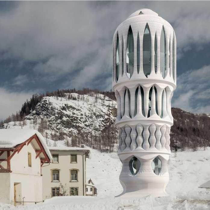 ETH Zurich to 3D print concrete Tower in Switzerland - GCO Portal