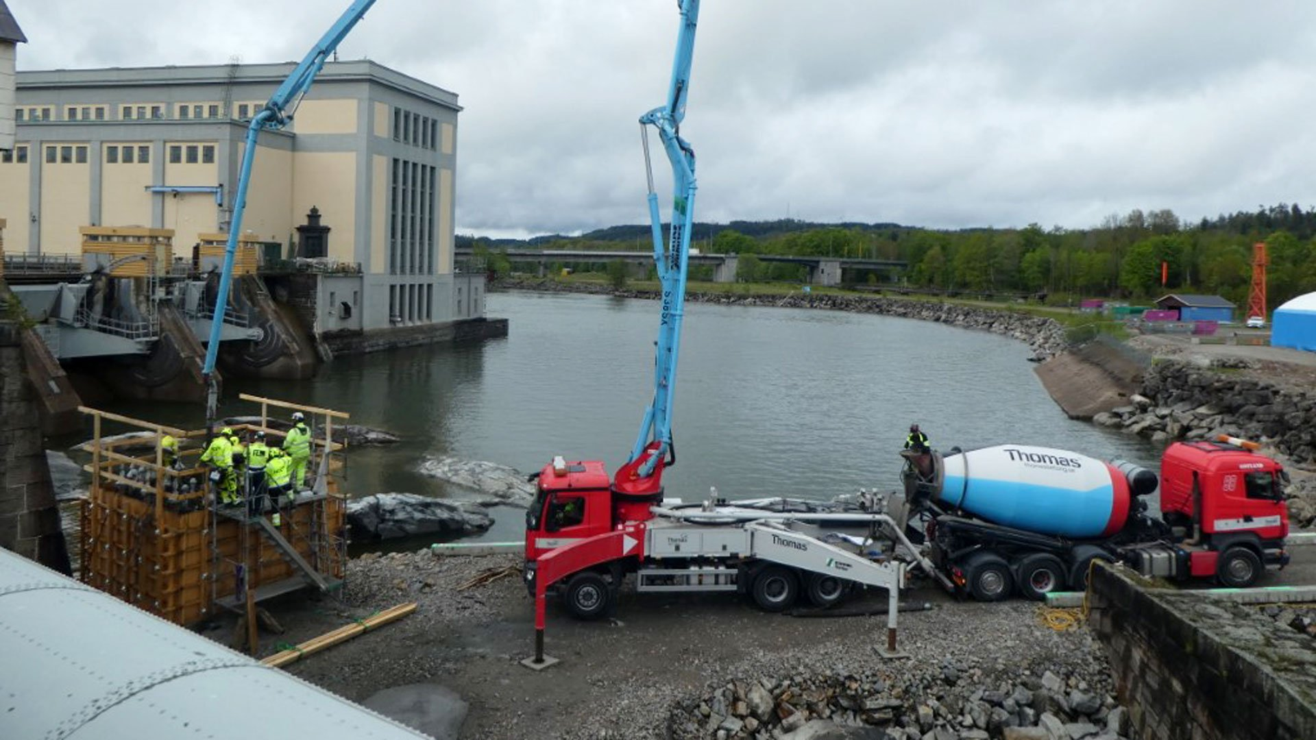 Swedish Dam to Use Specialized Concrete Mix - GCO Portal