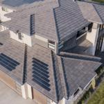 Net-zero Home Uses Concrete Roof Tiles, Integrated Solar
