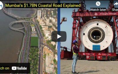 Mumbai's Coastal Road Shows Indian's Construction Capability