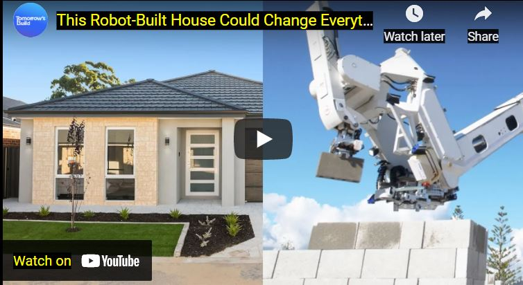 Building A House By Robot in Australia