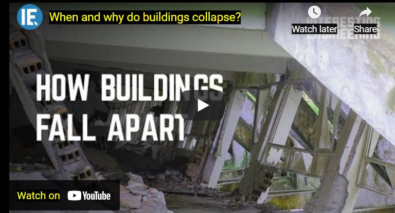 Do You Know about Reasons of Buildings' Collapse?