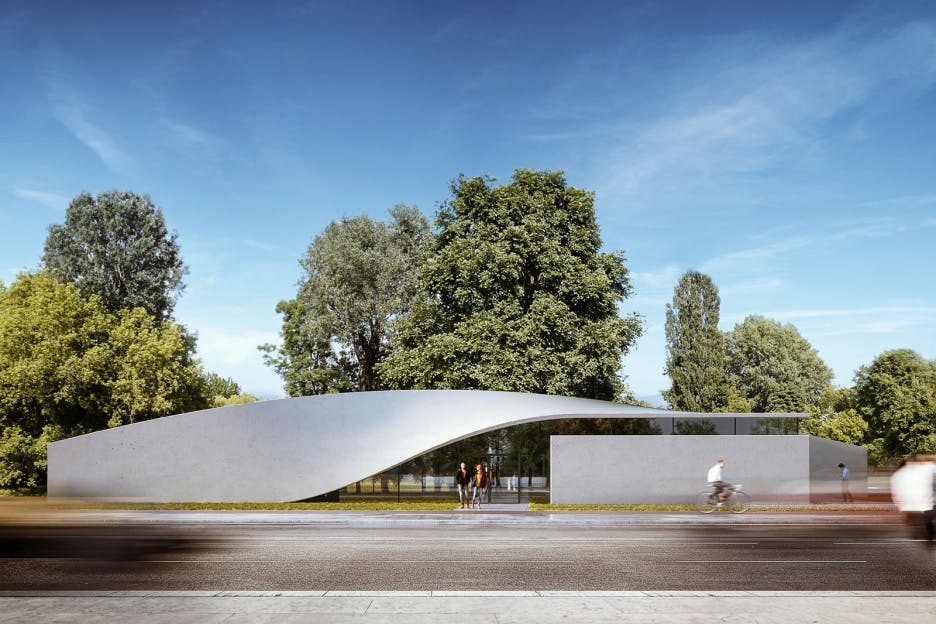 Construcion of World's First Building with Carbon Fiber
