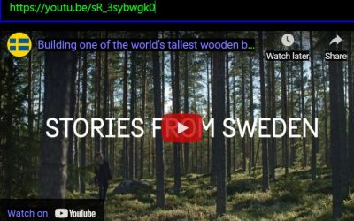 Building One of The World's Tallest Wooden Buildings  Stories from Sweden