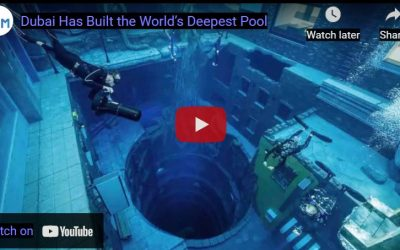 The World 's Deepest Pool Has Been Built in Dubai