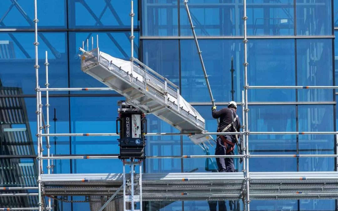 Scaffolding robot Heps work to be done faster and safer