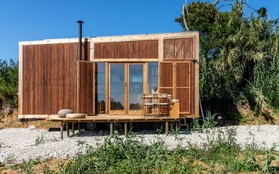 A Timber Tiny House for Living on the Road
